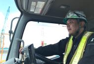 工事現場の納入に特化したドライバー
