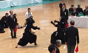剣道大会2015年9月21日(試合中)1