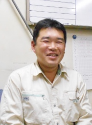 東和アークス(株)川越リサイクルセンターの佐々木さん