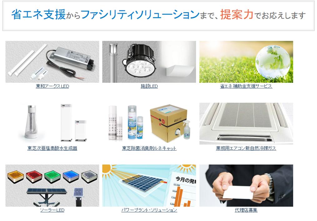 環境製品営業部リニューアル特設サイトのキャプション