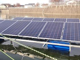 フロート式太陽光発電設備のユニット